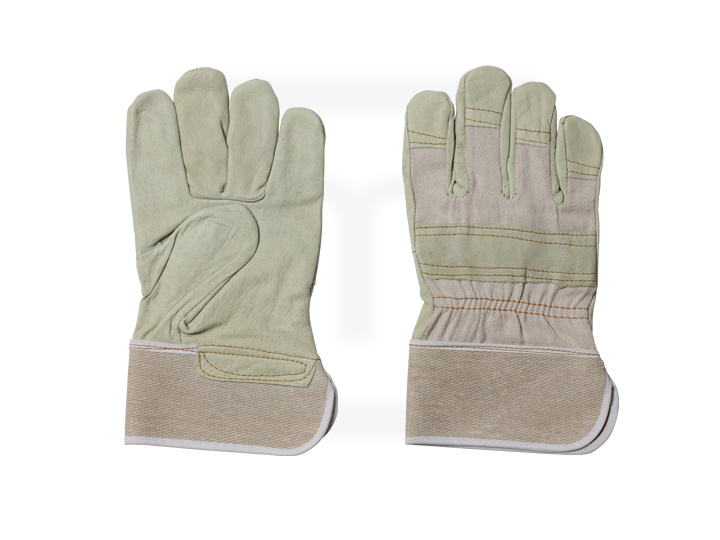 Rindspaltleder-Handschuhe, Gr. 10,5