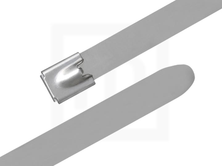 Edelstahlkabelbinder, 12,0 x 210 mm, 100 Stück