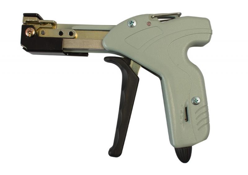 Kabelbinder Pistolenspannzange, für Edelstahlbinder, bis 7,9 mm