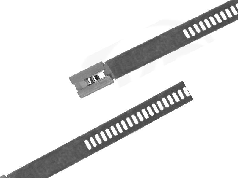 Edelstahlbinder mit Leiterverschluss, 7,2 x 200 mm 100 Stück