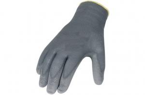 Handschuhe mit PU-Beschichtung - grau, Gr. 9