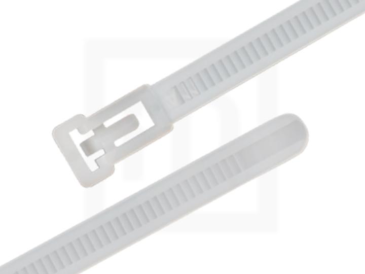 Kabelbinder wiederlösbar, 7,5 x 200 mm natur, 100 Stück