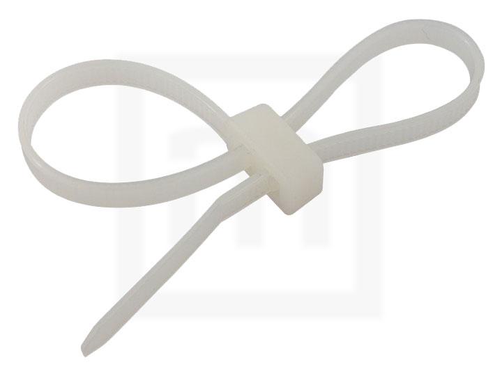 Doppelkopfbinder, 4,8 x 300 mm natur, 100 Stück