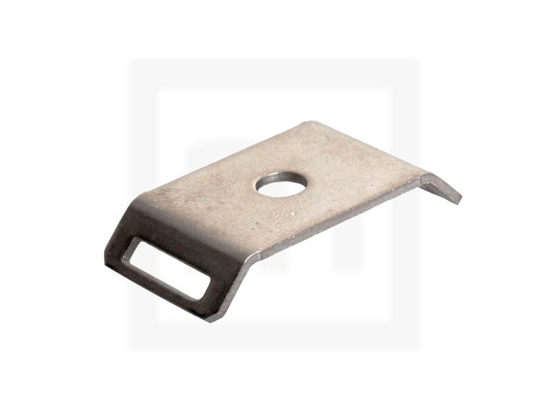 Edelstahlschraubsockel bis 10.0 mm, M4, 100 Stück