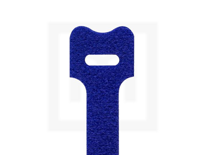 Klettbinder, 12,5 x 205 mm blau, 20 Stück