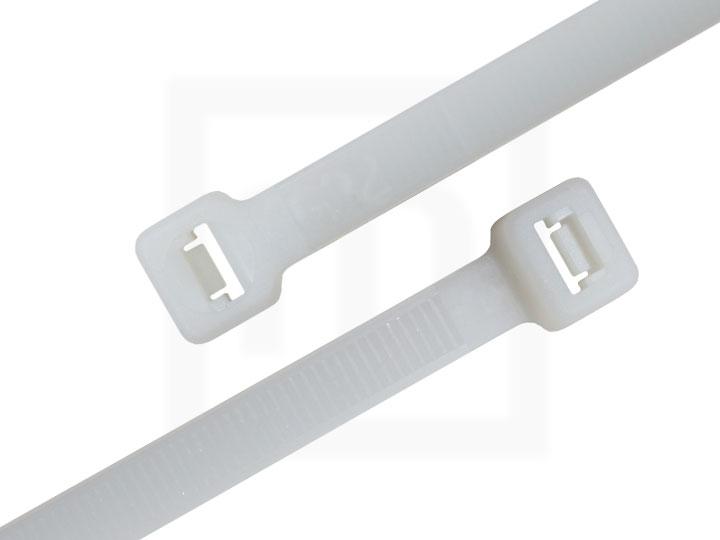 Kabelbinder außenverzahnt, 2,5 x 100 mm natur, 100 Stück