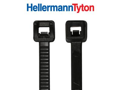 Hellermann KB 2,5 x 100 mm, hitzestabilisiert, schwarz 100 Stück