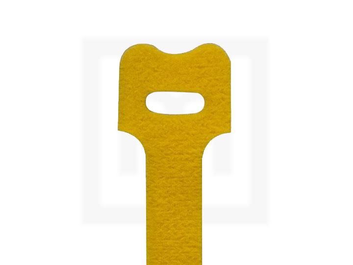 Klettbinder, 12,5 x 130 mm gelb, 20 Stück