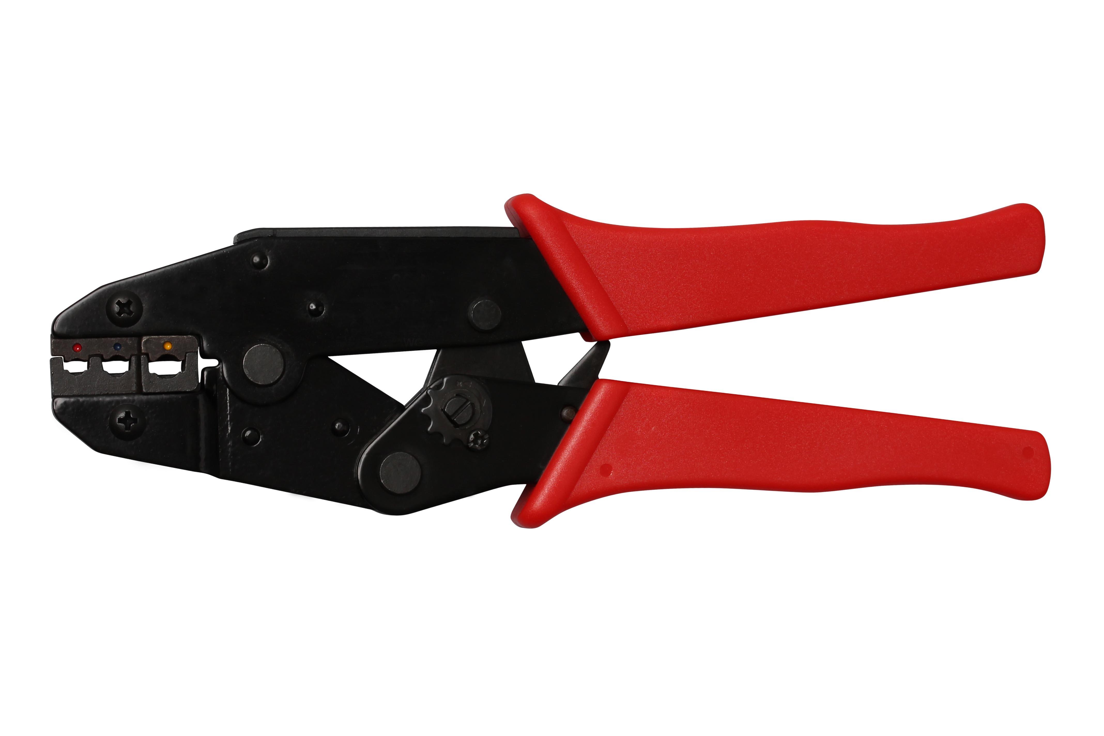 Kabelschuh-Zange, 0,5 - 6,0 mm²