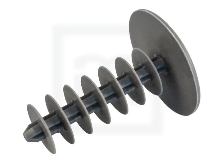 Gerüststopfen Rundlamelle, 28,0 x 40 mm dunkelgrau, 1000 Stück