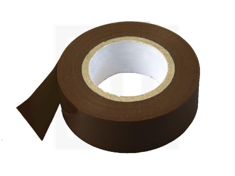 PVC - Isolierband, 19 mm x 20 m, braun