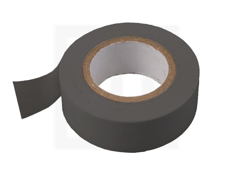 PVC - Isolierband, 19 mm x 20 m, grau