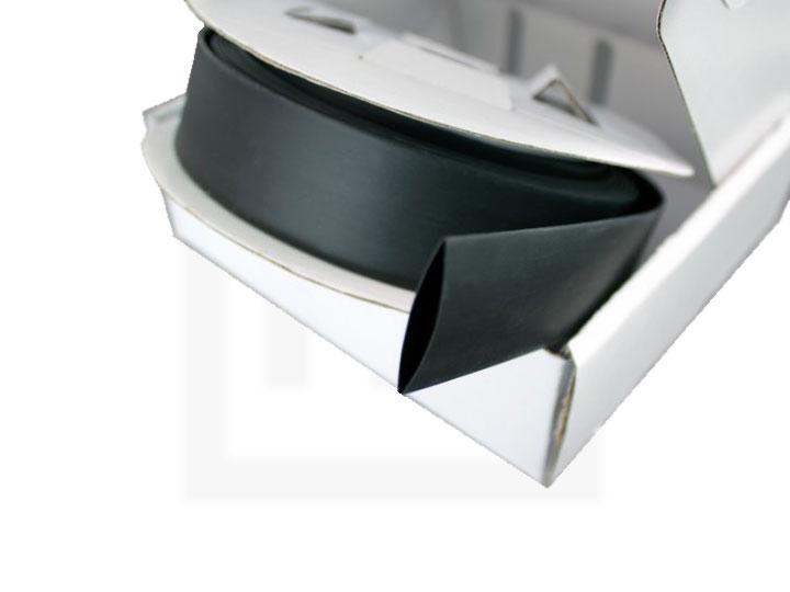 Schrumpfschlauch-Box, 1,2 mm schwarz, 20 m