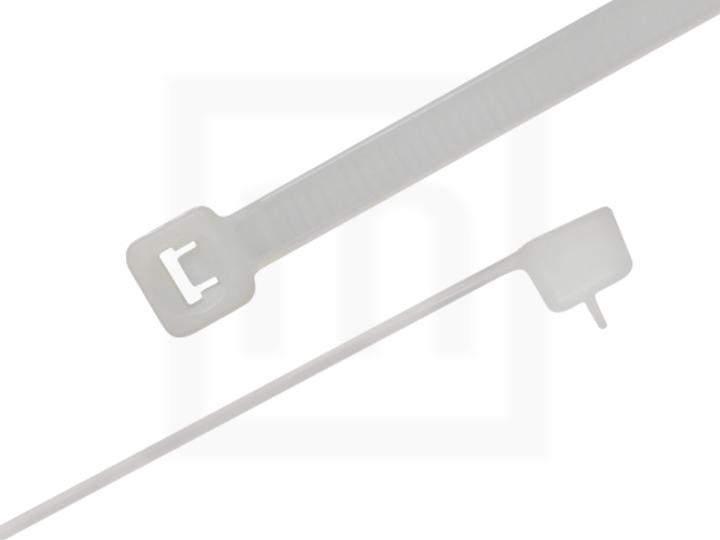 Kabelbinder wiederlösbar, 4,8 x 160 mm natur, 100 Stück