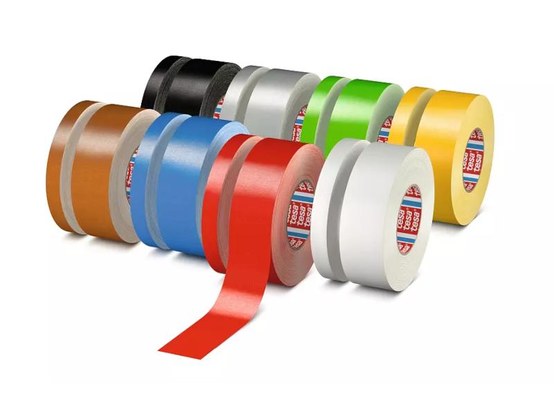 tesa® Kunststoffbeschichtetes Premium Gewebeband, 50 mm x 50 m
