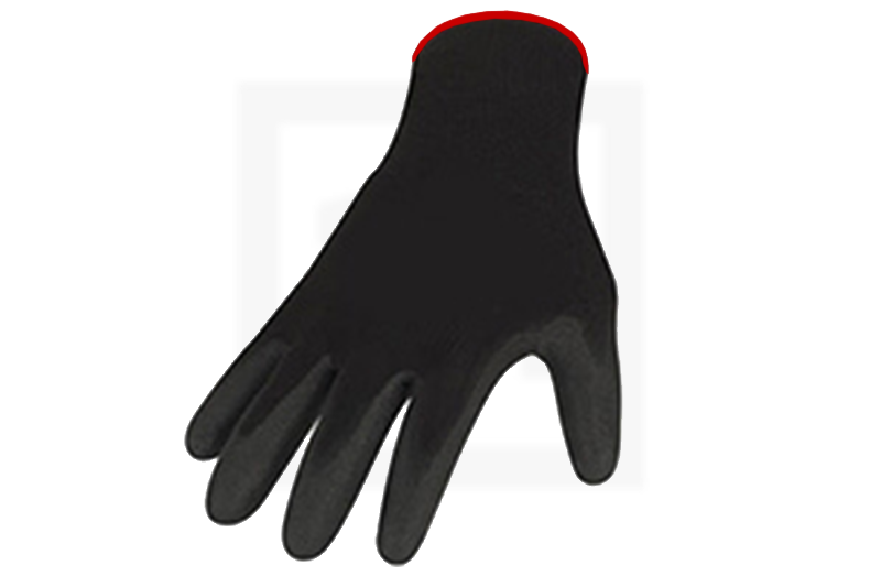 Handschuhe mit Nitrilbeschichtung - gesandet, Gr. 11