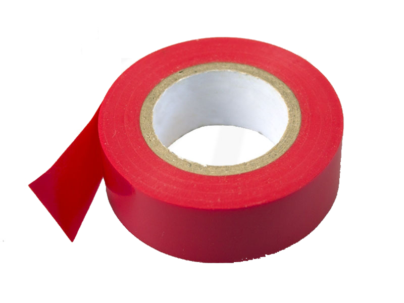 PVC - Isolierband, 19 mm x 10 m, rot