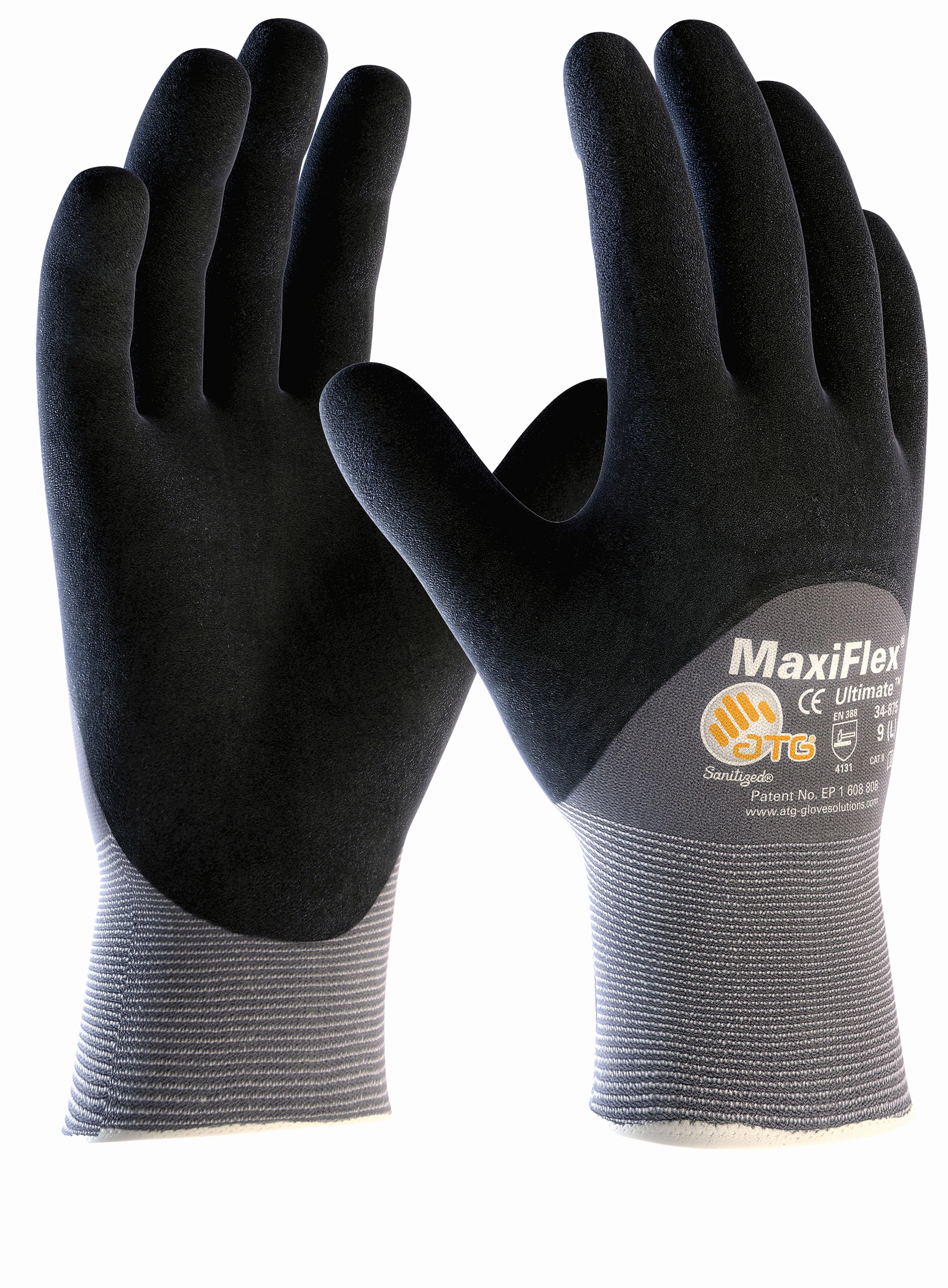 MaxiFlex® Ultimate™, 3/4 getaucht, Gr. 7