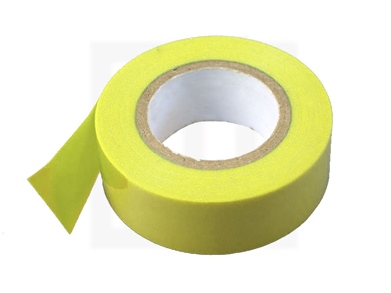 PVC - Isolierband, 19 mm x 20 m, gelb