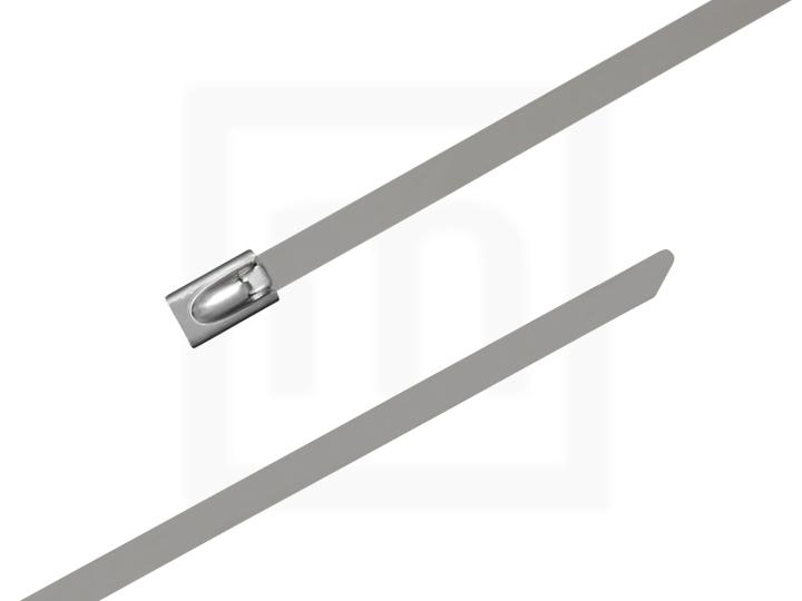 Edelstahlkabelbinder, 4,6 x 290 mm, 100 Stück